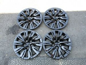 Set-of-4-New-2012-2013-2014-Toyota-Camry-16-034-Hubcaps-Wheel-Covers-61163-Black