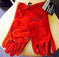 Anchor Brand - 18gc-l - Welding Gloves Welders Split Cowhide Heat Resistant - L