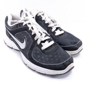 Nike Air Relentless 443861 003 Black White Sneakers Shoes Size 9 VGUC