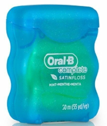 Oral-B Complete Satin Floss 55 Yards
