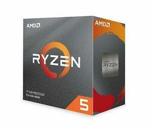 AMD Ryzen 5 3600 6-Core, 12-Thread Unlocked Processor with Wraith Stealth Cooler