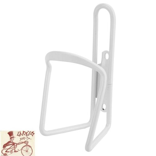 SUNLITE ALLOY 6mm WHITE WATER BOTTLE CAGE WITHOUT MOUNTING HARDWARE