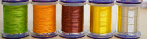 #16-#22 French Nymphing /& Co. UTC Ultra Wire SMALL 16 Farben Auswahl Haken-Gr