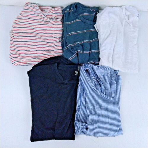 voor tanktops strepen en witte Madewell dames T shirts medium witte Sz zwart 6 Veel qwAxX7A