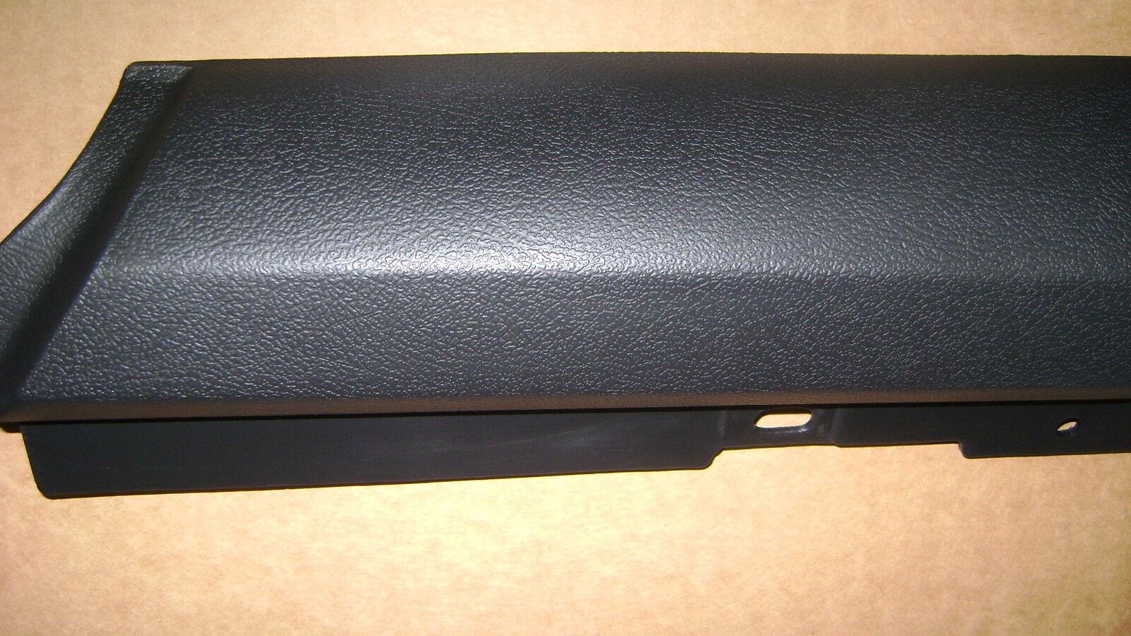 Door Panel Upper Pair 70-77 Camaro Black Top Rail standard interior rails trim