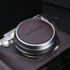 GARIZ Leather Lens Capfix Fuji X100s X100 Leica X2 XA-CFX100BR2 Brown