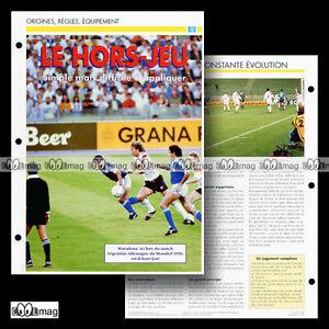 #011.02 - Règles - Le Hors-Jeu (Photo - MARADONA World Cup 1990) Fiche Football GEk1JaRs-07140658-800387521