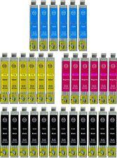 30 CARTUCCE COMPATIBILI PER EPSON STYLUS 711 SX100 218 200 400 405 BX300 DX4000
