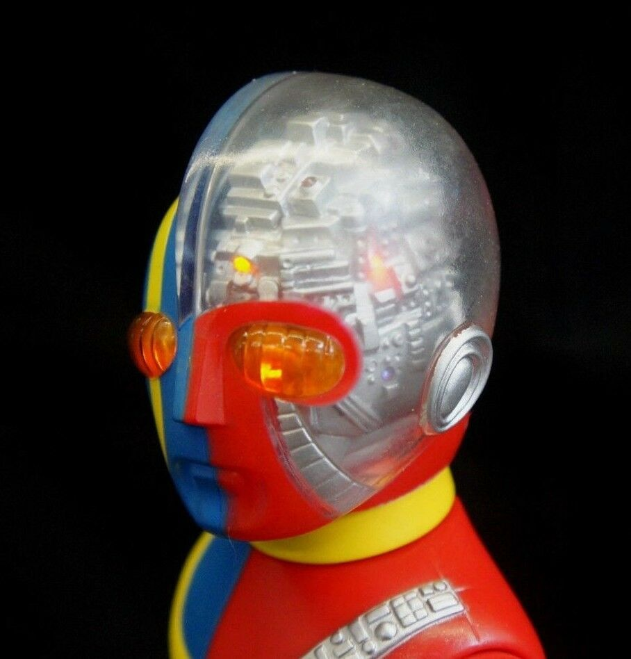 Kikaida Vinyloid Vinyl Figure with Lighting System Kikaider Sofubi Marusan L@@K