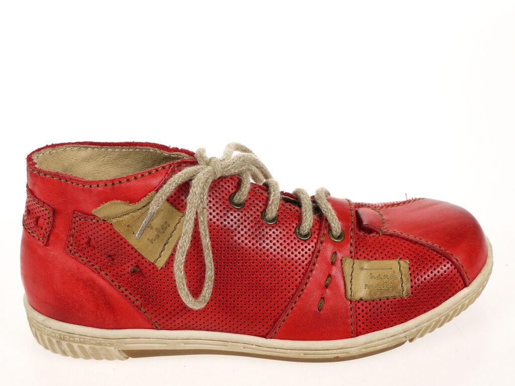 Rovers Schuhe Musterschuh Stiefelette Art. 46016 rot Gr. 37 Original Neu rot 46016 5a0697