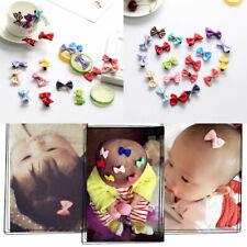 Kids Baby Girl/'s Bow Ribbon Hair Bow Mini Latch Hairpins Y5K7 Hair C L7E1