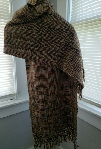 Manos Del Uruguay 100% Virgin Wool Blanket Scarf W