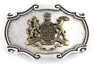 Details Zu Gürtelschnalle Schließe Wappen Baden Württemberg Silber Geschenk Geburtstag