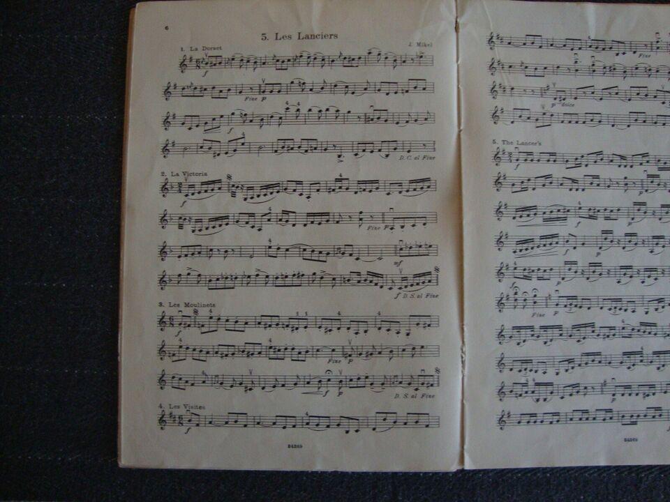 violinnoder, Århundredets melodier for violin
