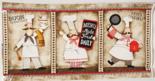 Buon Appetito Cooking Chef Panel /& Words Collection SOLD SEPARATELY bty