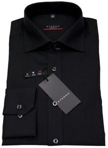 Eterna Zu Schwarz Brusttasche Hemd Details Fit 1100 Modern X177 39 Herren Ohne KFJcTl13