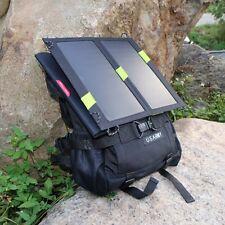 New Foldable 5V14W /20W Solar Charger Sunpower Panel for PSP GPS Phones Tablet