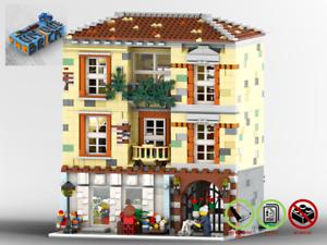 Modular-Blumengeschaef-MOC-PDF-Bauanleitung-kompatibel-mit-LEGO-Steine
