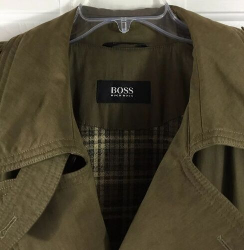 Hugo Boss Maverick Lined Double Breasted Belted Tr