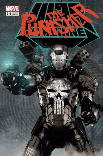 Punisher #218 Tim Bradstreet Lenticular Homage Variant Marvel Legacy Comic Book