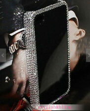 Bling Frame Gems Rhinestones Crystals Lovely Hard Case For Various Mobile Phones