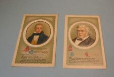 1910 Era Literary Birthday Greetings Postcard Lot William Thackeray Walter Scott