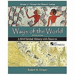 Ways Of The World Vol 1 A Brief Global History With Sources By