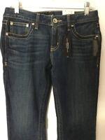 Ana Dark Wash Boot Cut Women Jeans 6p L30