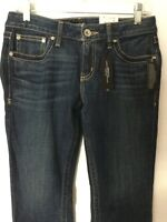 Ana Dark Wash Boot Cut Women Jeans 6p L30
