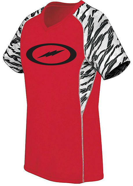 Storm Women's 2Furious Performance Crew Jersey Bowling Shirt Dri-Fit Red