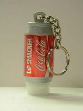 "Coke Can Key Ring Soda Pop Key Chain Red Silver 2"" x 1"" Stocking Stuffer"
