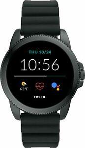 Fossil Gen 5e Smartwatch 44mm Silicone - Black