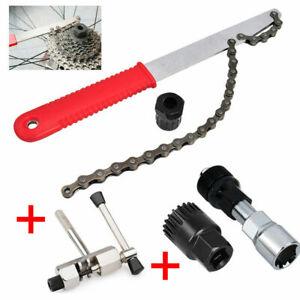 Fahrrad Werkzeug Reparatur Werkzeug Kassettenabzieher Zahnkranzabzieher 5in1 Set