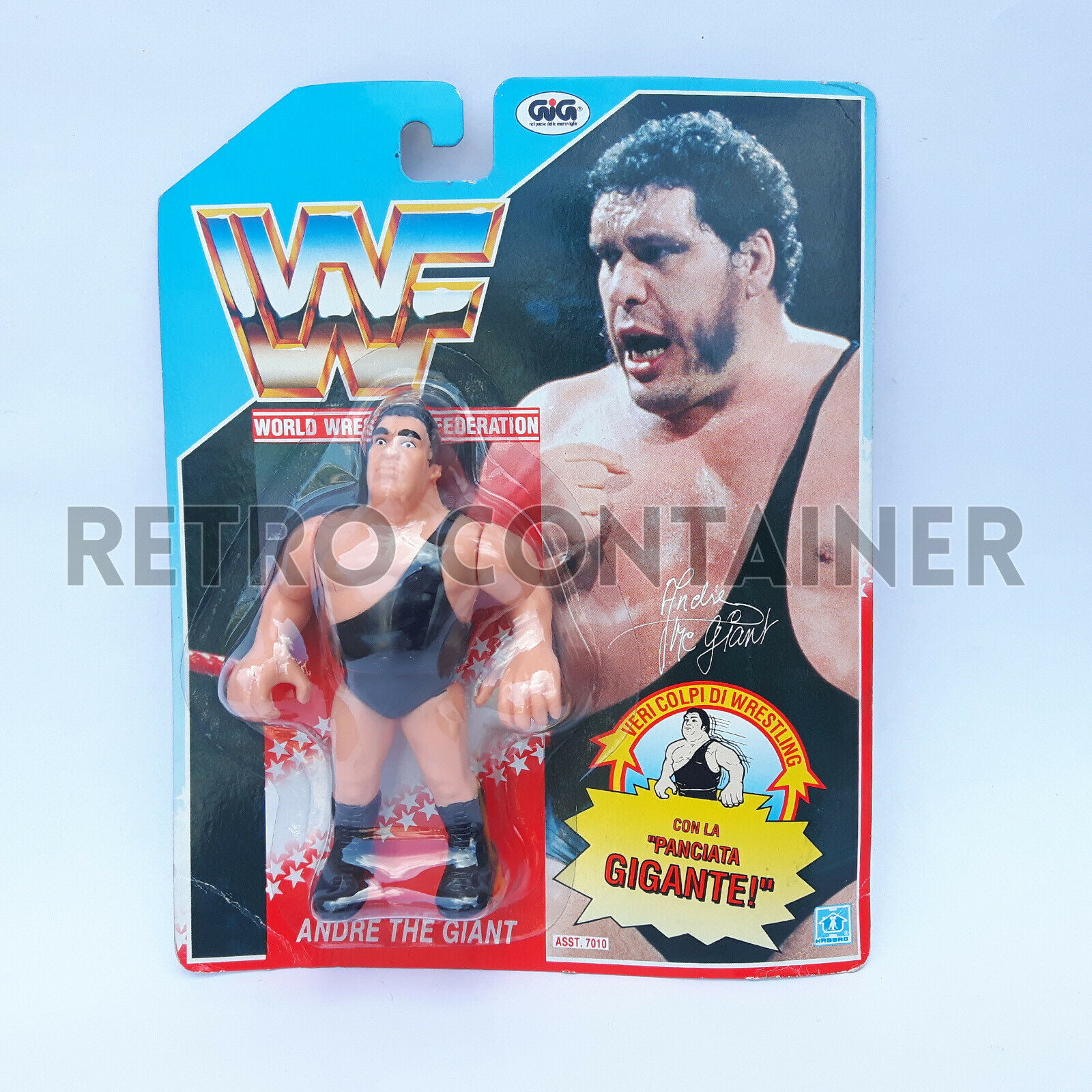 HASBRO WWF Vintage Action Figure - Andre The Giant - MISB MOC NEW GIG