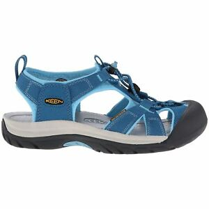 e4b8d203a74 Details about Keen Venice H2 Celestial Blue Grotto Womens Closed-Toe  Slip-On Hiking Sandals
