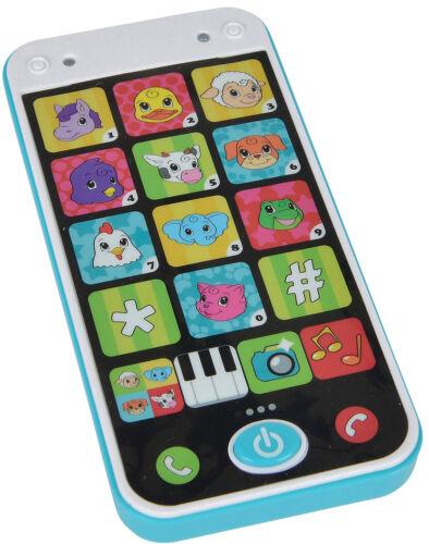 Simba Abc Babytelefon Kleinkinder Rhytmikspielzeug Spielzeughandy Smart Phone