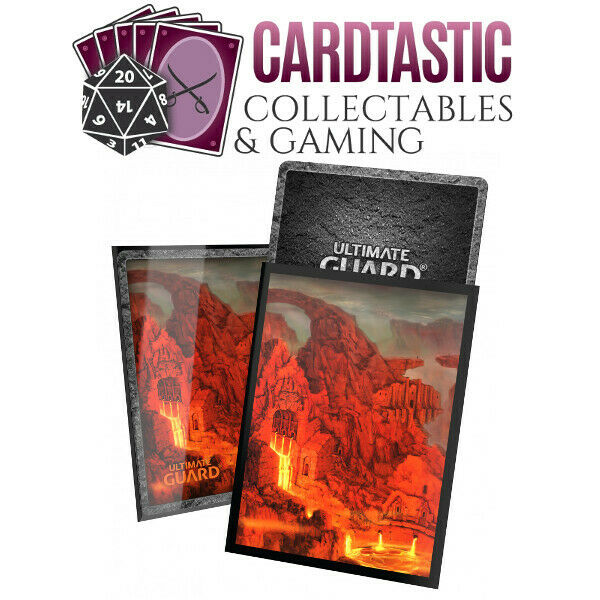 Ultimate Guard Lands Edition 2 100 Standard Size Sleeves - Mountain