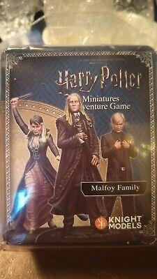 MALEFOY famille-Harry Potter Miniatures Jeu d/'aventure Knight Models NEUF