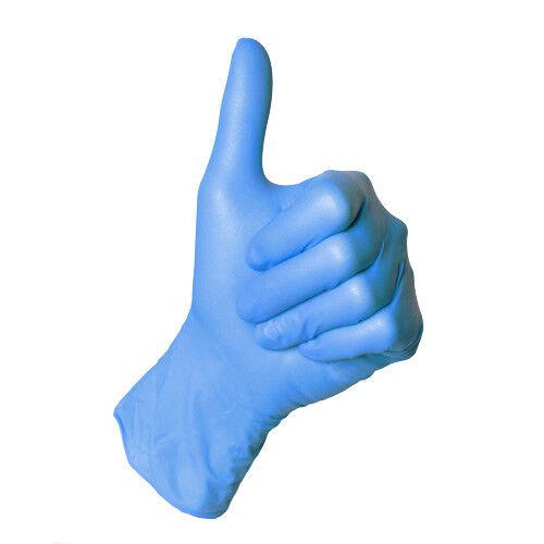 blau Nitril-Einweghandschuhe SEMPERGUARD puderfrei