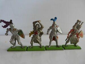1971 Britains Deetail 4 Knights.