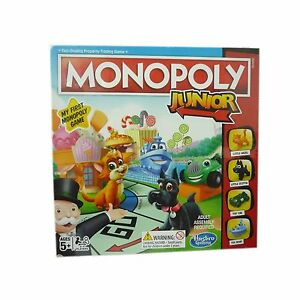 Monopoly Junior My First Juego De Mesa Juguete Ninos Version Nuevo
