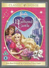 BARBIE - & The Diamond Castle - UK R2 DVD  (as new/unplayed - thin case)