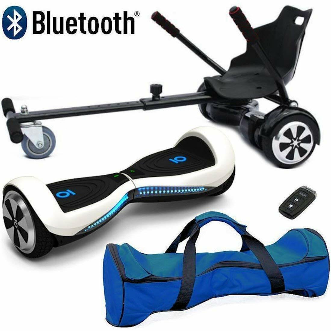 Bluetooth 6.5″ Swegway Hover Scooter Bundle Combo Self Balance Board & Hoverkart WAS £199.99 NOW £169.99 w/code POCKET15 @ eBay