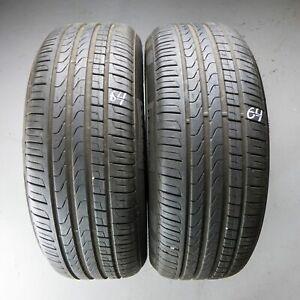 2x-PIRELLI-Scorpion-Verde-MO-235-55-r19-101-V-Dot-2117-6-5-mm-pneus-d-039-ete