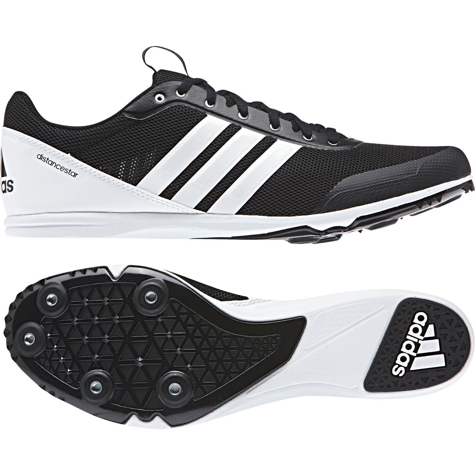 Adidas Men Shoes Spikes New Training Distancestar Running Track Trainers New Spikes AQ0213 cc68ba