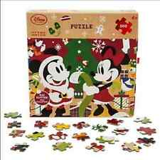 ORIGINAL DISNEY PARKS MICKEY MOUSE AND FRIENDS HOLIDAY GLITTER PUZZLE 750 PCS