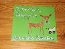ZITRONEN PÜPPIES - BAMBIS RACHE / DIGIPACK-CD 2017 OVP! SEALED!