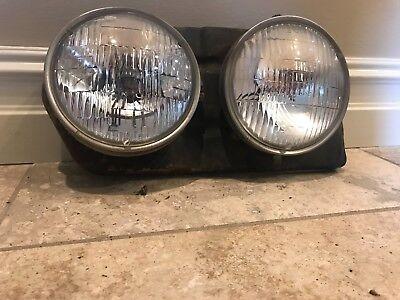 1966 Chevy Impala Caprice Headlamp Bezel Pair NEW LH+RH