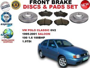 pour-VW-POLO-1-6-1-9TDI-classique-6V2-AVANT-95-01-Kit-Disque-frein-PLAQUETTES