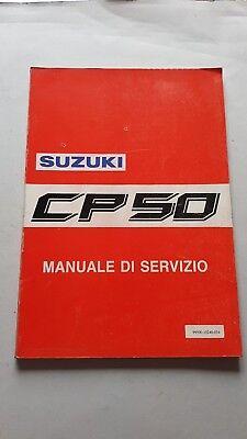 2019 Nuovo Stile Suzuki Cp 50 Scooter 1990 Manuale Officina Originale Italiano Workshop Manual Elevato Standard Di Qualità E Igiene